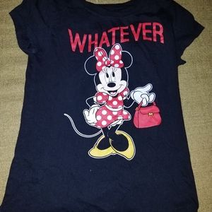Girl's Minnie Mouse Shirt - Large